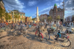 Travel photography Amsterdam and bikes