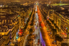 Travel photography Paris The Avenue des Champs-Élysées
