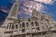 Travel photography Paris Basilica of the Sacred in power